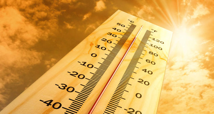 Altas temperaturas en junio