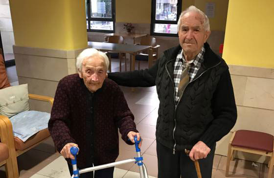 Ancianos en las redes