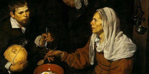 imágenes de la vejez en la pintura